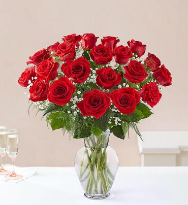 Rose Elegance - 2 Dozen Red