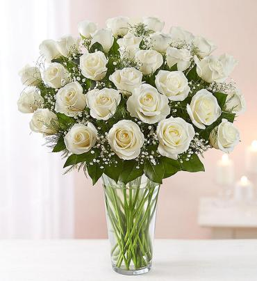 White Roses - up to 3 dozen