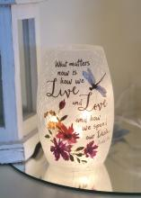Decorative Lit Vase - The Dash