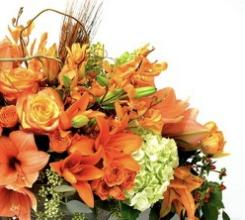 Designers Choice Thanksgiving Centerpiece - 3 candles
