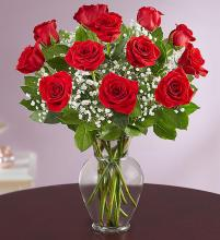Rose Elegance - 1 Dozen Red