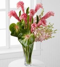 Alluring Luxury Orchid & Ginger Bouquet - 26 Stems