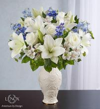 Loving Blooms Lenox Blue and White
