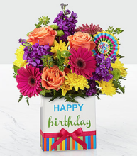The FTD Birthday Brights Bouquet