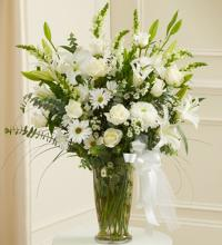 Beautiful Blessings White Vase Arrangement