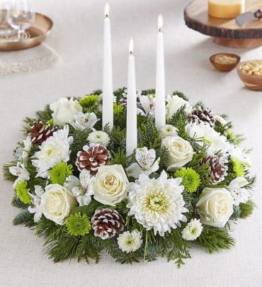 Winter\'s Charm Centerpiece