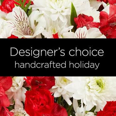 Small Florist Designed Bouquet - Holiday - Starting at $49.99