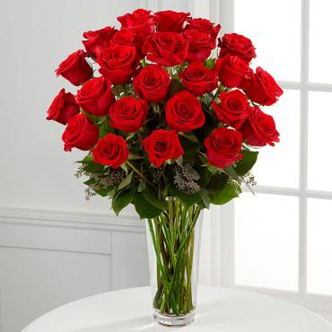 The Long Stem Red Rose Bouquet - 24 stems
